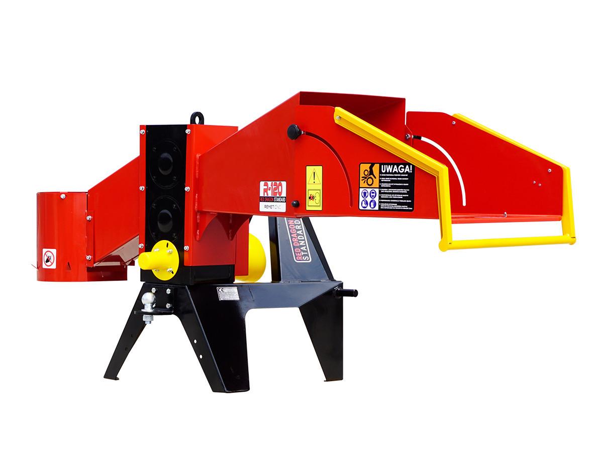 Измельчитель веток Remet R-120 (110 мм, 6 ножей, 25 л.с., BOM)