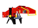 Измельчитель веток Remet R-120+транспортер 2,3 м (110 мм, 8 ножей, 25 л.с., BOM), фото 2