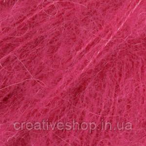 Пряжа Drops Brushed Alpaca Silk (цвет 18 cerise)
