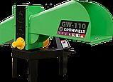 Измельчитель веток GrunWelt GW-110-4 (90 мм, 4 ножа, ВОМ, 15 л.с.), фото 5
