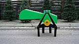 Измельчитель веток GrunWelt GW-110-4 (90 мм, 4 ножа, ВОМ, 15 л.с.), фото 6