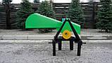 Измельчитель веток GrunWelt GW-90-6 (70 мм,  ножей, ВОМ, 10 л.с.), фото 9