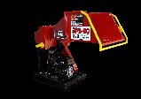 Измельчитель веток Remet RPS-100+транспортер 1.6 м (80 мм, 6 ножей 10 л.с./бензин), фото 2