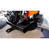 Измельчитель веток Remet RPS-120+поворотный круг+транспортер 1,6 м (100 мм, 6 ножей, 16 л.с./бензин), фото 2