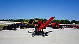 Измельчитель веток Remet RPS-120+поворотный круг+транспортер 1,6 м (100 мм, 6 ножей, 16 л.с./бензин), фото 5