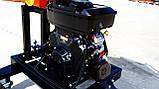 Измельчитель веток Remet RPS-120+поворотный круг+транспортер 1,6 м (100 мм, 6 ножей, 16 л.с./бензин), фото 7