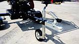Измельчитель веток Remet RPS-120+поворотный круг+транспортер 1,6 м (100 мм, 6 ножей, 16 л.с./бензин), фото 8