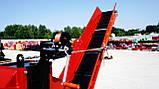Измельчитель веток Remet RPS-120+поворотный круг+транспортер 2,3 м (100 мм, 8 ножей 23 л.с./бензин), фото 3