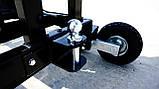 Измельчитель веток Remet RPS-120+поворотный круг+транспортер 2,3 м (100 мм, 8 ножей 23 л.с./бензин), фото 6