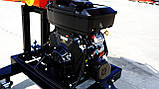 Измельчитель веток Remet RPS-120+поворотный круг+транспортер 2,3 м (100 мм, 8 ножей 23 л.с./бензин), фото 7