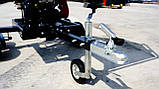 Измельчитель веток Remet RPS-120+поворотный круг+транспортер 2,3 м (100 мм, 8 ножей 23 л.с./бензин), фото 8