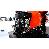 Измельчитель веток Remet RPS-120+платформ+поворотный круг+транспортер 2,3 м  (100 мм, 6 ножей, 23 л.с./бензин), фото 4