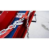 Измельчитель веток Remet RPS-120+платформ+поворотный круг+транспортер 2,3 м  (100 мм, 6 ножей, 23 л.с./бензин), фото 5