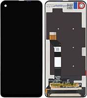 Дисплей модуль Motorola Moto One Vision XT1970 Черный