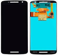 Дисплей модуль Motorola Moto Play XT1562, X Play XT1563 с тачскрином Черный