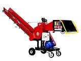 Измельчитель веток Remet RPE-100+транспортер 2,3 м  (80 мм,4 ножа, 7,5 кВт), фото 2