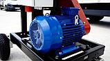 Измельчитель веток Remet RPE-100+транспортер 2,3 м  (80 мм,4 ножа, 7,5 кВт), фото 10