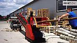 Измельчитель веток Remet RPE-200+транспортер 4 м (150 мм, 8 ножей, 22 кВт), фото 6