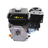 Двигатель бензиновый Weima WM170F-Q NEW (HONDA GX210) (шпонка, вал 19 мм, 7.0 л.с., бак 5 л), фото 5