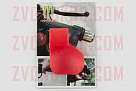 Рычаг круиз контроля ручки газа MONSTER ENERGY (универсальный, красный) XJB