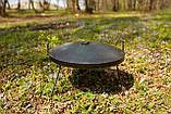 Сковородка 40 см с крышкой и чехлом Буковинка, фото 4