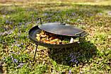 Сковородка 40 см с крышкой и чехлом Буковинка, фото 5