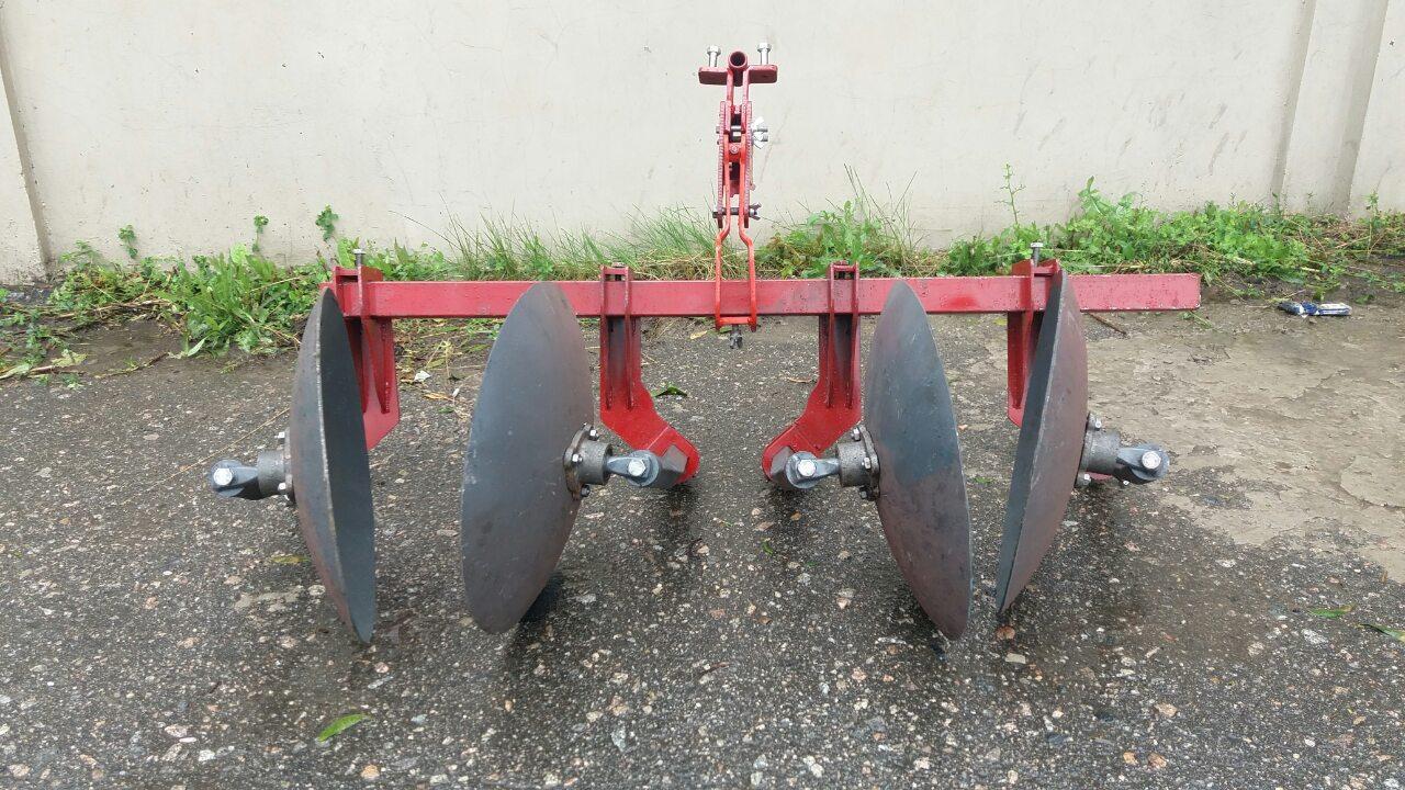 Окучник двухрядный на подшипниках БелМет (40 см, литая ступица, мотоблок/мототрактор)