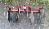 Окучник двухрядный на подшипниках БелМет (40 см, литая ступица, мотоблок/мототрактор), фото 5