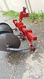 Окучник двухрядный на подшипниках БелМет (40 см, литая ступица, мотоблок/мототрактор), фото 7