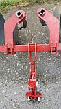 Окучник двухрядный на подшипниках БелМет (40 см, литая ступица, мотоблок/мототрактор), фото 9