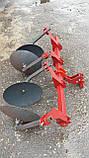 Окучник двухрядный на подшипниках БелМет (40 см, литая ступица, мотоблок/мототрактор), фото 10