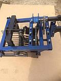 Картофелекопалка с двумя цепными редукторами ШИП (низкооборотистая, под ВОМ для мотоблоков 105, 135, 1100), фото 2