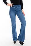Джинсы OMAT jeans 9070 Клеш синие, фото 5