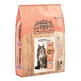 Home CAT Food ADULT корм для котів для виведення шерсті зі шлунка «Hairball Control» 400гр, фото 3