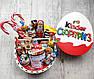 Новорічний подарунковий набір в дерев'яній скринці кіндер сюрприз. Подарунок на Новий рік, Миколая, Різдво, фото 5