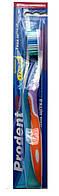 """Зубна щітка """"Prodent"""" Advance середньої жорсткості ( біло/бірюзова)/-724/40"""