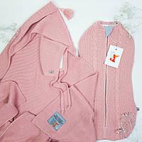Набір для новонародженого Optimal HappyLittleFox Рожева Пудра +, фото 1