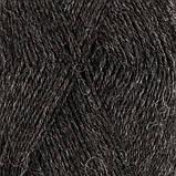 Пряжа Drops Nord Mix (цвет 06 dark grey), фото 2