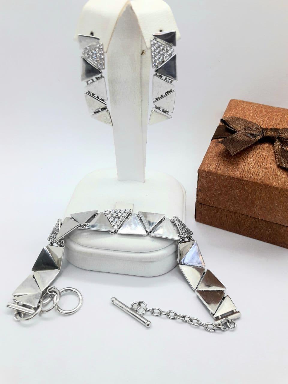 Комплект серебряных украшений Триптих от Ирида-В