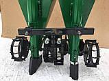 Картофелесажалка мототракторная двухрядная цепная Шип 120 л (одноточ. сцеп.), фото 7