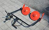 Косилка роторная ременная WEIMA КР-01 (к тяжелым МБ  ВТ810, ВТ1010, ВТ1210), фото 2