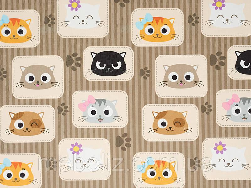 """Ткань мебельная обивочная """"CATS"""""""