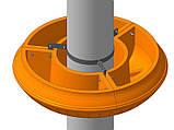 Крепление для вазонов фонарных GrunWelt 900, фото 3