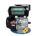 Двигатель бензиновый GrunWelt 230F-Т25 NEW Евро 5 (7,5 л.с., шлицы 25 мм), фото 3