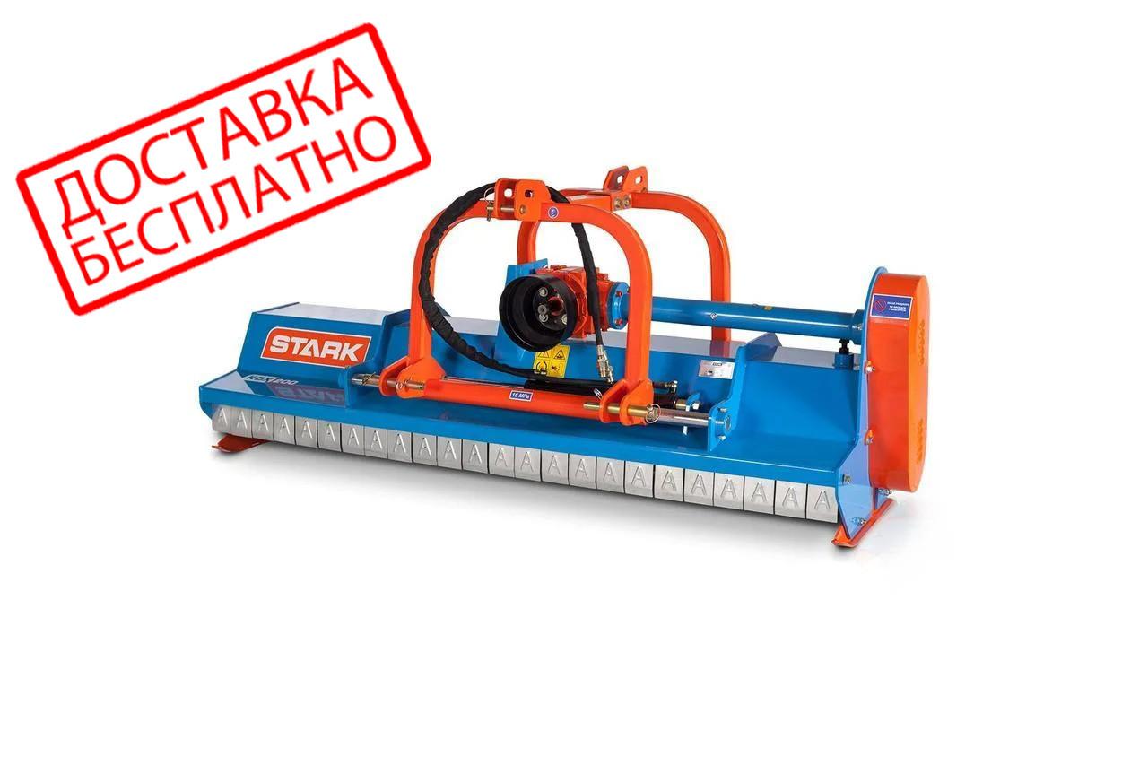 Мульчирователь KDX 200 STARK c гидравликой и карданом ( 2 м, молотки) (Литва)