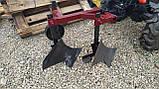 Плуг 2-х корпусный 219 с опорным колесом Каменец для тяжелых мотоблоков, фото 7