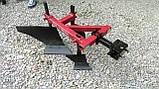 Плуг 119 ПР с предплужником и опорным колесом Каменец для тяжелых мотоблоков, фото 2