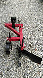 Плуг 119 ПР с предплужником и опорным колесом Каменец для тяжелых мотоблоков, фото 4