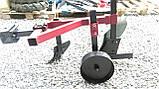 Плуг 119 ПР с предплужником и опорным колесом Каменец для тяжелых мотоблоков, фото 5