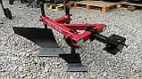 Плуг 119 ПР с предплужником и опорным колесом Каменец для тяжелых мотоблоков, фото 6